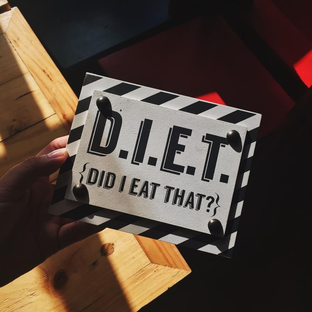ダイエットが続かない特徴